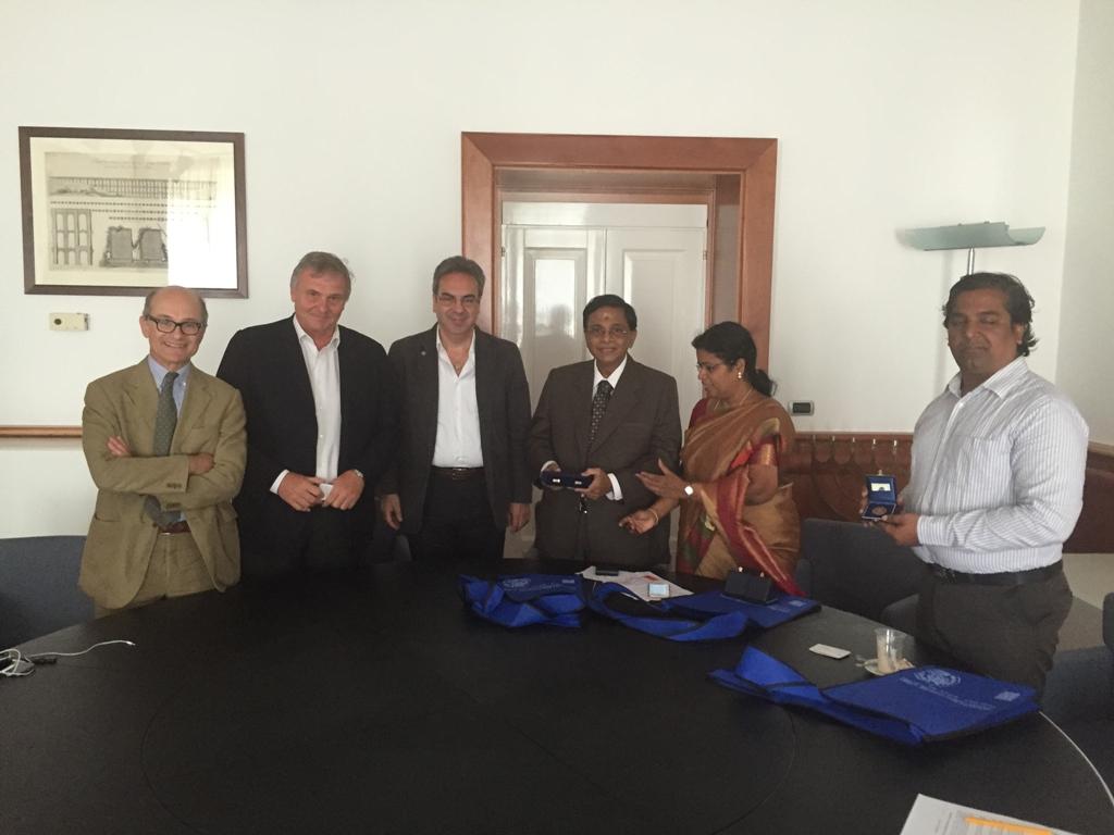 Unisannio firma un accordo con l'indiana Kalasalingam University