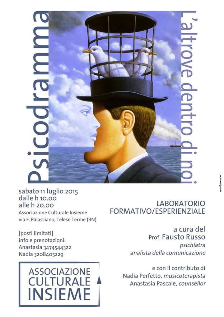 A Telese Terme un laboratorio formativo/esperienziale promosso dall'associazione culturale 'Insieme'