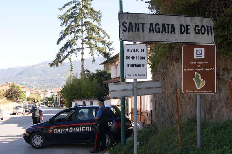 Morto il pensionato aggredito a Sant'Agata de' Goti
