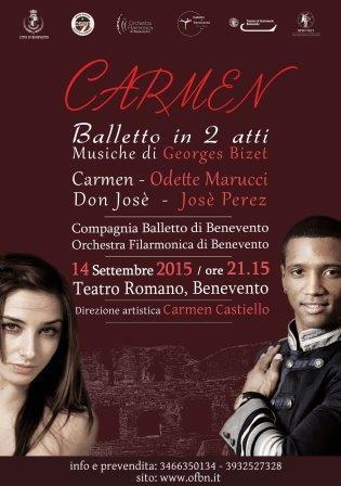 Domani conferenza stampa di presentazione di 'Carmen' balletto in due atti