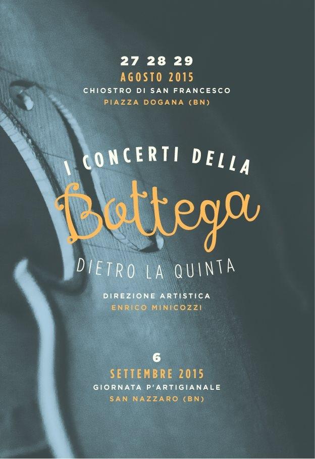 Oggi, presso la libreria Masone, conferenza stampa di presentazione de 'I Concerti della Bottega'
