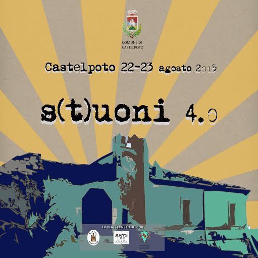 Il 22 e 23 agosto a Castelpoto torna 'S(t)uoni 4.0'