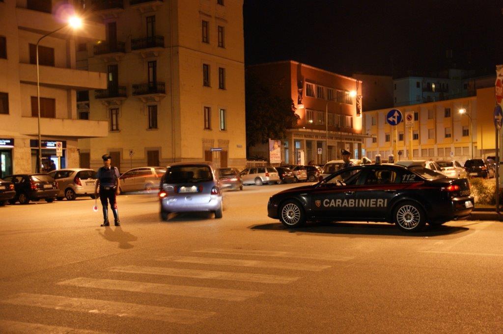 Benevento, fermato dai Carabinieri un uomo ubriaco e in possesso di un coltello