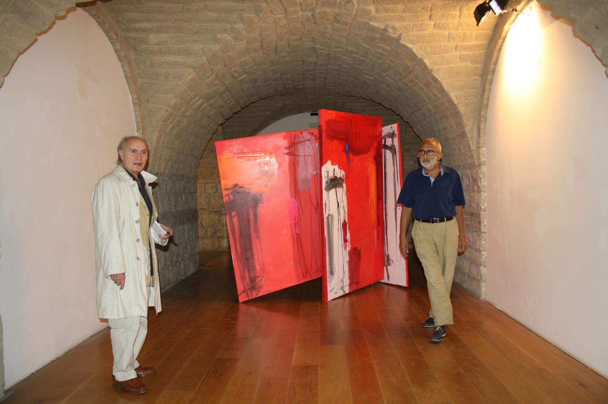 Tutto pronto al museo Arcos per l'apertura della mostra dedicata ad Enzo Esposito