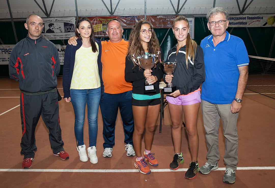 Torneo di tennis 'Città di Morcone' vincono il molisano Fabrizio Perrella e la casertana Antonia Aragosa