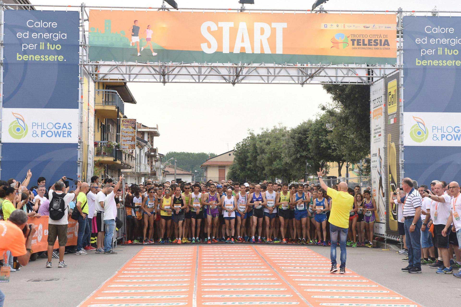 Dopo il trofeo 'Città di Telesia', la città termale ospita la mezza maratona
