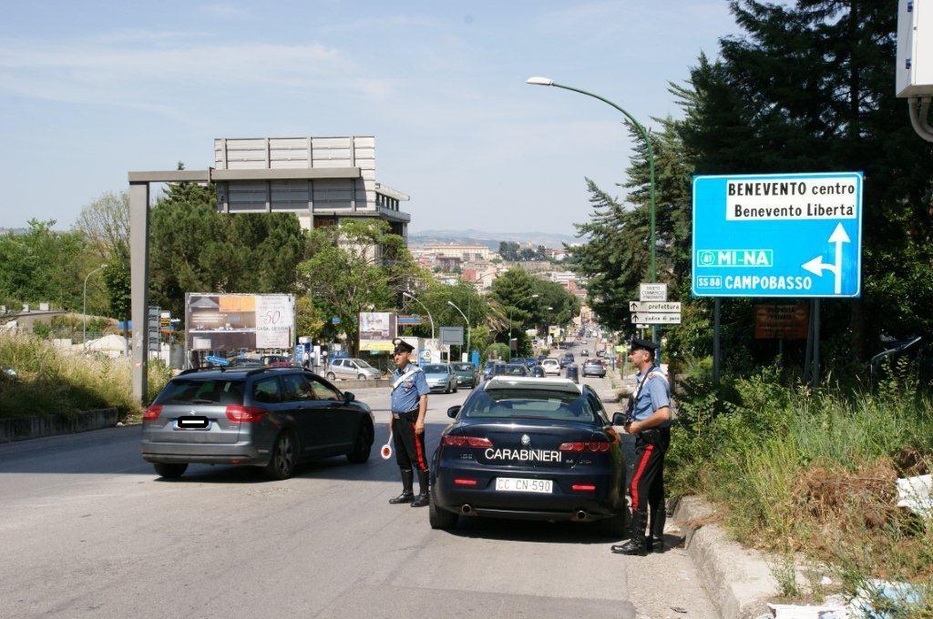 Benevento, arrestato un uomo per violazione all'obbligo di soggiorno