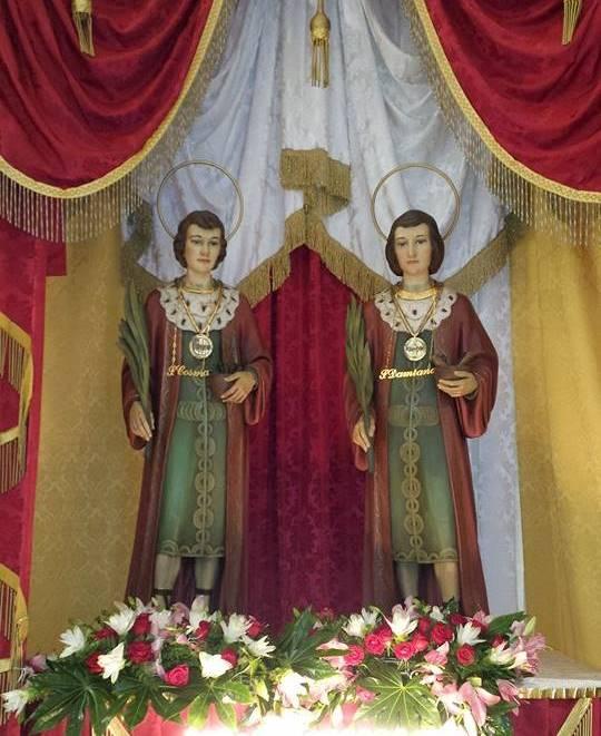 Tocco Caudio, i Battenti arricchiscono la tradizionale festa dei SS. Cosma e Damiano