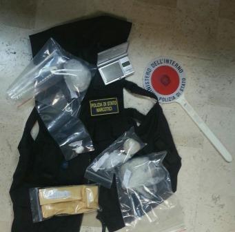 Arrestati dalla Polizia due beneventani per spaccio di droga
