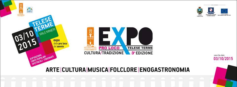 'Pro Loco Expo', sabato 3 ottobre la terza edizione a Telese Terme