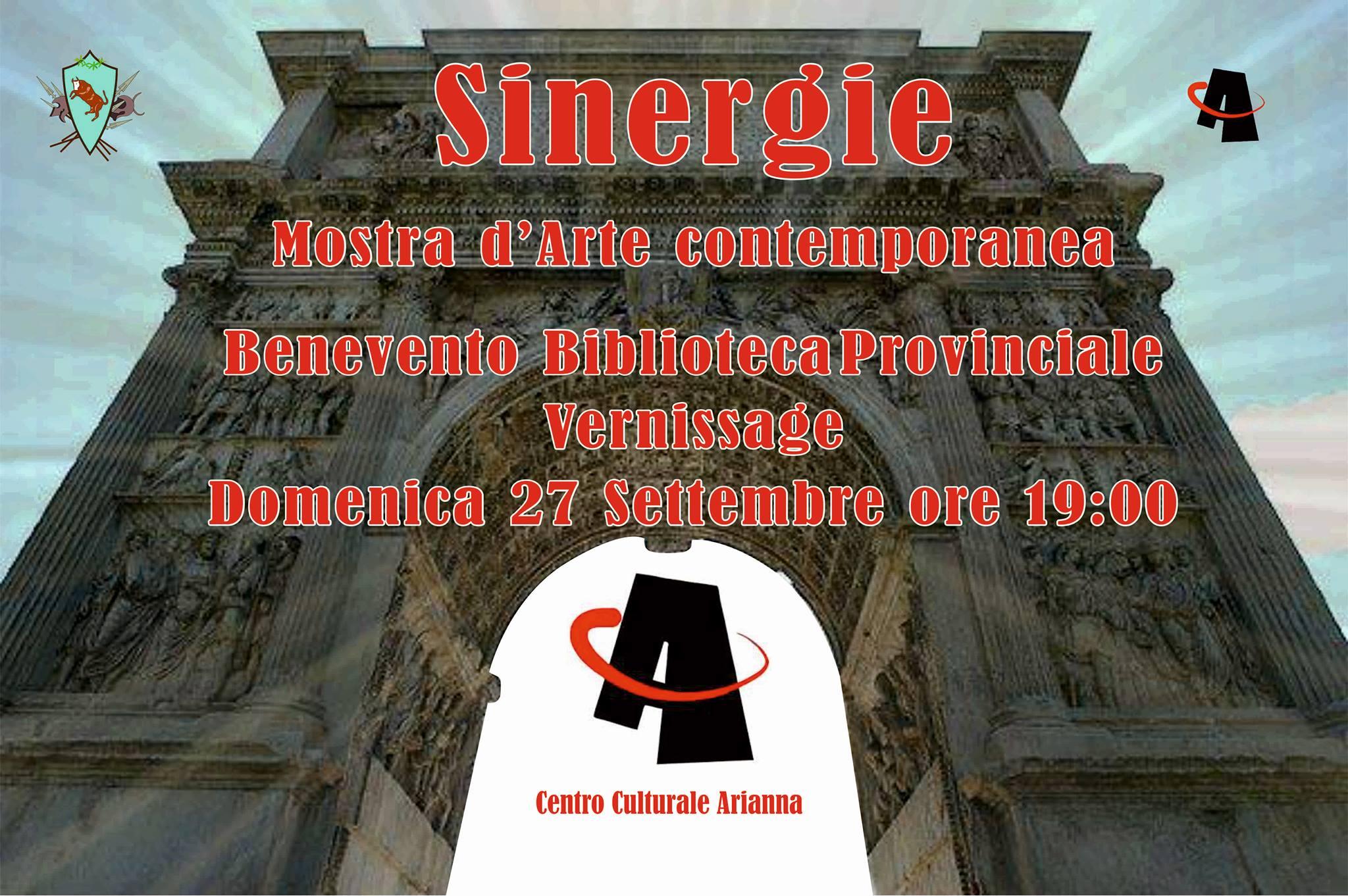 Domenica, alla Biblioteca Provinciale, si aprirà la mostra di arte contemporanea 'Sinergie'