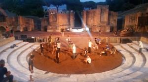 Ieri presentazione di 'Orestea' in prima nazionale sabato per gli spettatori di 'Benevento Città Spettacolo'