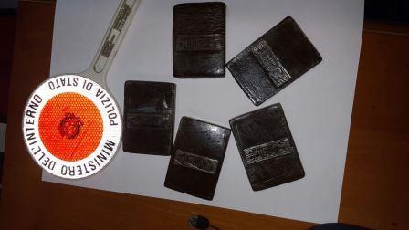 La Polizia di Stato arresta un 42enne trovato in possesso di 500 grammi di hashish