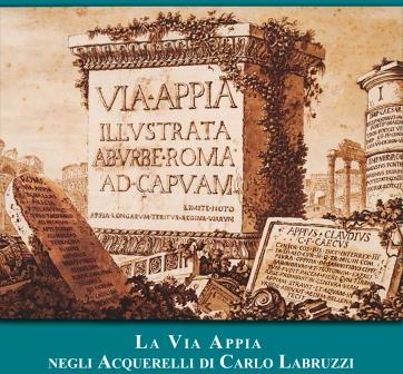 In mostra a Benevento gli acquerelli sulla via Appia di Carlo Labruzzi