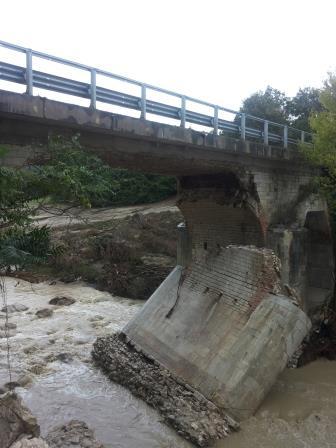 Post alluvione, report sulle strade provinciali