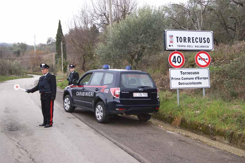 Torrecuso, rinvenuti in località Torrepalazzo due veicoli rubati