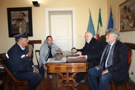 In Provincia il sindaco di Circello per programmare il ripristino della S.P.100 sul Tammarecchia