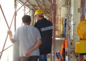 Denunce in provincia per lavoro nero e violazione amministrative e di sicurezza