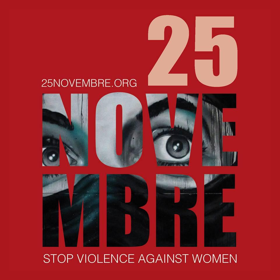 Domani si celebra in tutto il mondo la 'Giornata contro la Violenza sulle Donne'