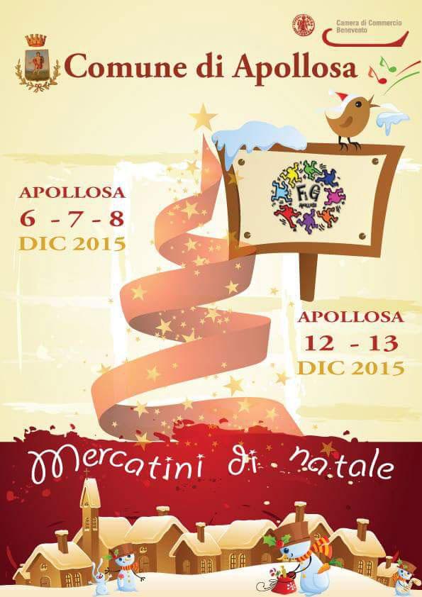 Mercatini di Natale ad Apollosa, occasione per riscoprire un piccolo centro rurale