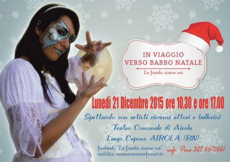 Va in scena ad Airola lo spettacolo 'In viaggio verso Babbo Natale'