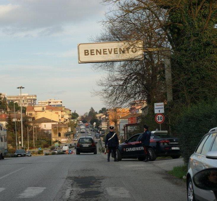 Benevento, arrestato 28enne per detenzione di hashish