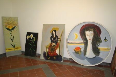 Inaugurata, ieri, la mostra del pittore beneventano Mastronunzio