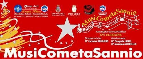 Airola, rinviato al 7 febbraio il concerto della rassegna 'MusiCometaSannio'