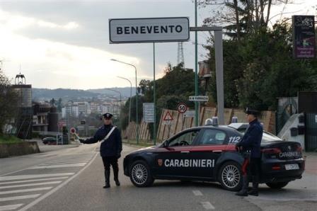 Benevento, controlli del territorio anti criminalità