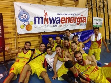 Basket, Miwa Energia: ufficialmente iniziata la nuova stagione
