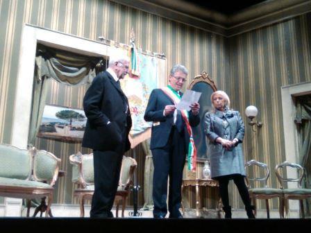 Conferita, al Maestro Luigi De Filippo, la cittadinanza onoraria di Telese Terme