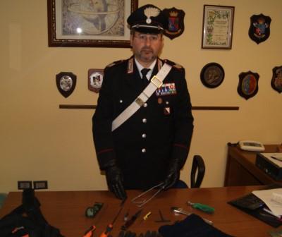 Durazzano, tentato furto in abitazione. Arrestato un 27enne