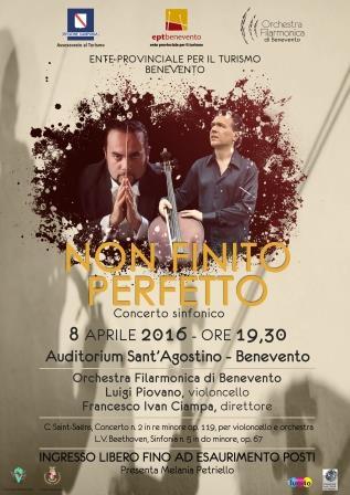 'Non finito, perfetto', III concerto dell'Orchestra Filarmonica di Benevento