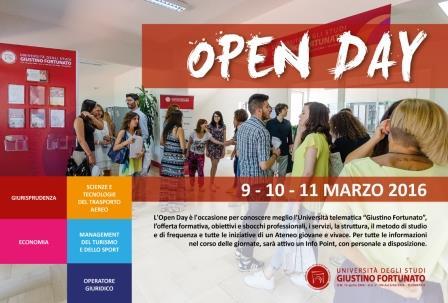 Da domani 'Open Day Unifortunato', tre giorni per conoscere l'offerta formativa dell'Ateneo