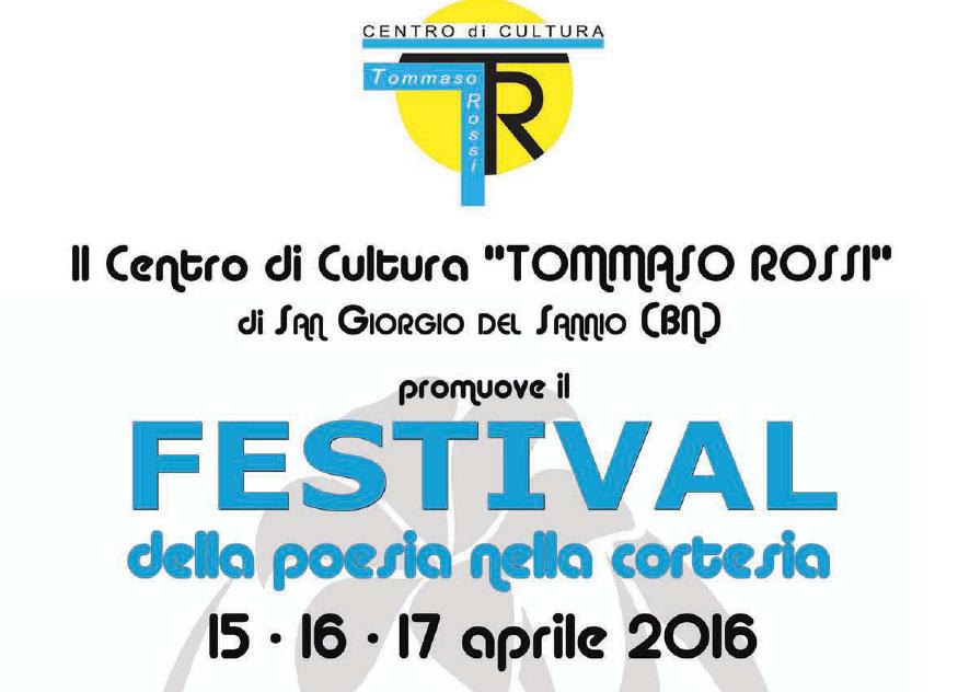 San Giorgio, week end dedicato all'arte con il 'Festival della poesia nella cortesia'