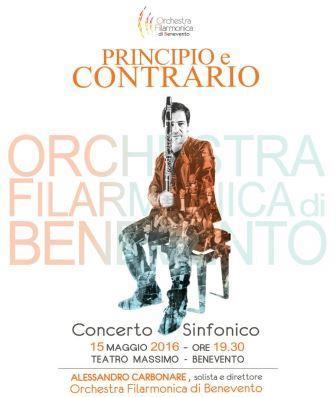 Il clarinettista di fama mondiale Alessandro Carbone in concerto a Benevento