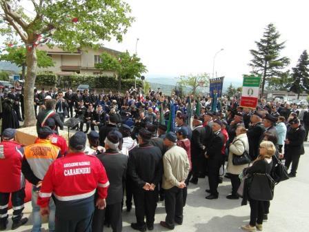 Campoli Monte Taburno, inaugurata sezione Associazione Nazionale Carabinieri in congedo