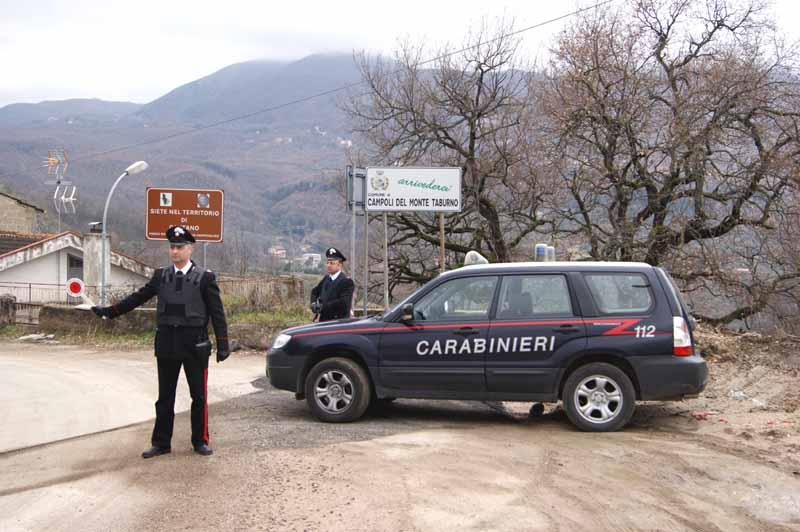 Campoli Monte Taburno, rinvenuto ordigno esplosivo