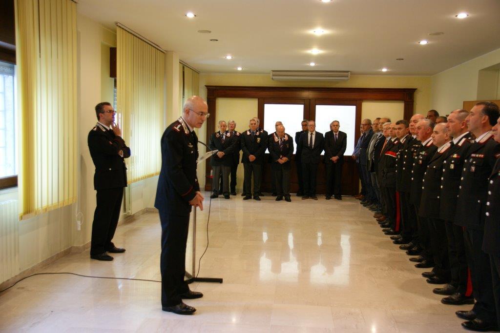 Il Comandante Interregionale Carabinieri 'Ogaden' ha visitato il Comando Provinciale di Benevento