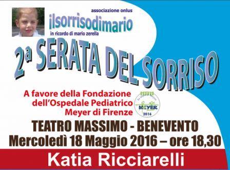 Benevento, evento di raccolta fondi pro Ospedale Pediatrico Meyer di Firenze