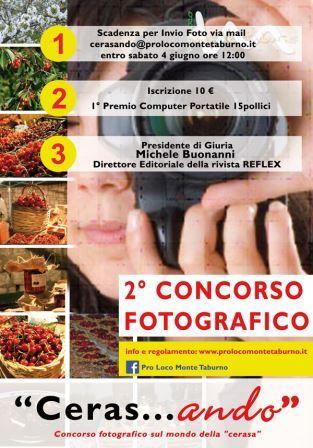 Campoli Monte Taburno, concorso fotografico 'Cerasando'. Iscrizioni fino al 4 giugno