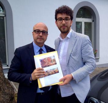 Febbraro, consegnato al sottosegretario del Mibact report sugli affreschi longobardi dei Sabariani