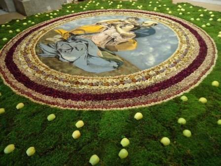 'Il borgo dei colori', domani a Cusano Mutri infiorata del Corpus Domini