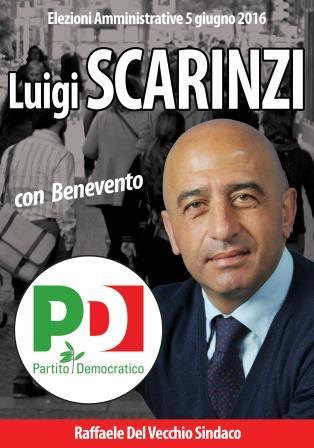 Amministrative, Scarinzi e Varricchio insieme 'Con Benevento'