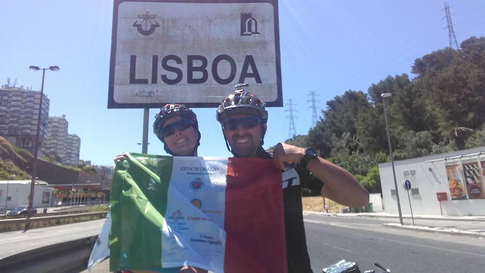 Giuseppe Campochiaro e Giovanna Napolitano sono a Lisbona e pronti alla partenza per gli Usa