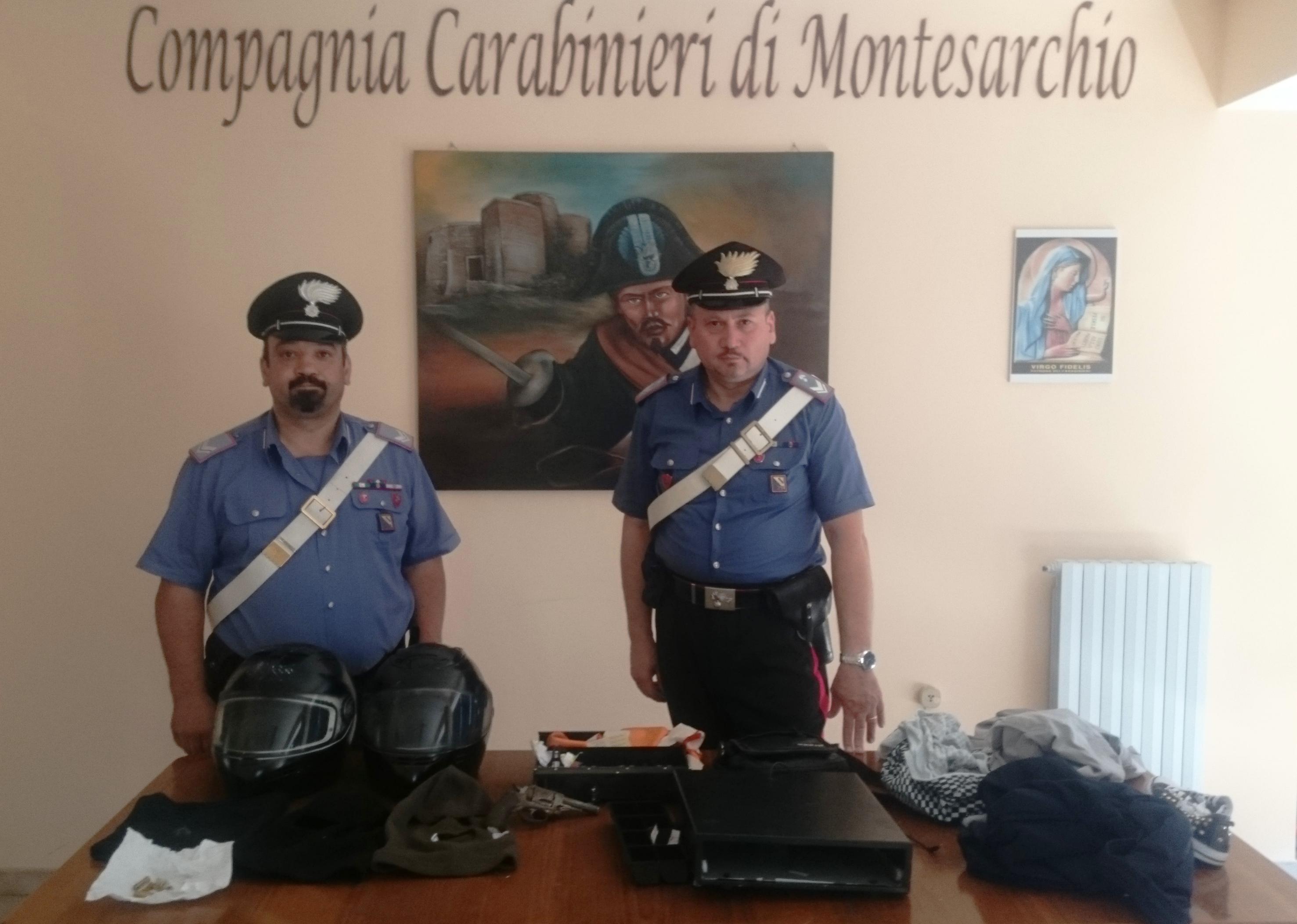 Ritrovato dai carabinieri il maltolto ad una macelleria di Montesarchio