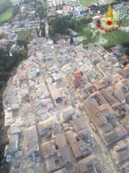 Sisma del  centro Italia, la vicinanza della comunità di Foglianise a quella amica di Amatrice