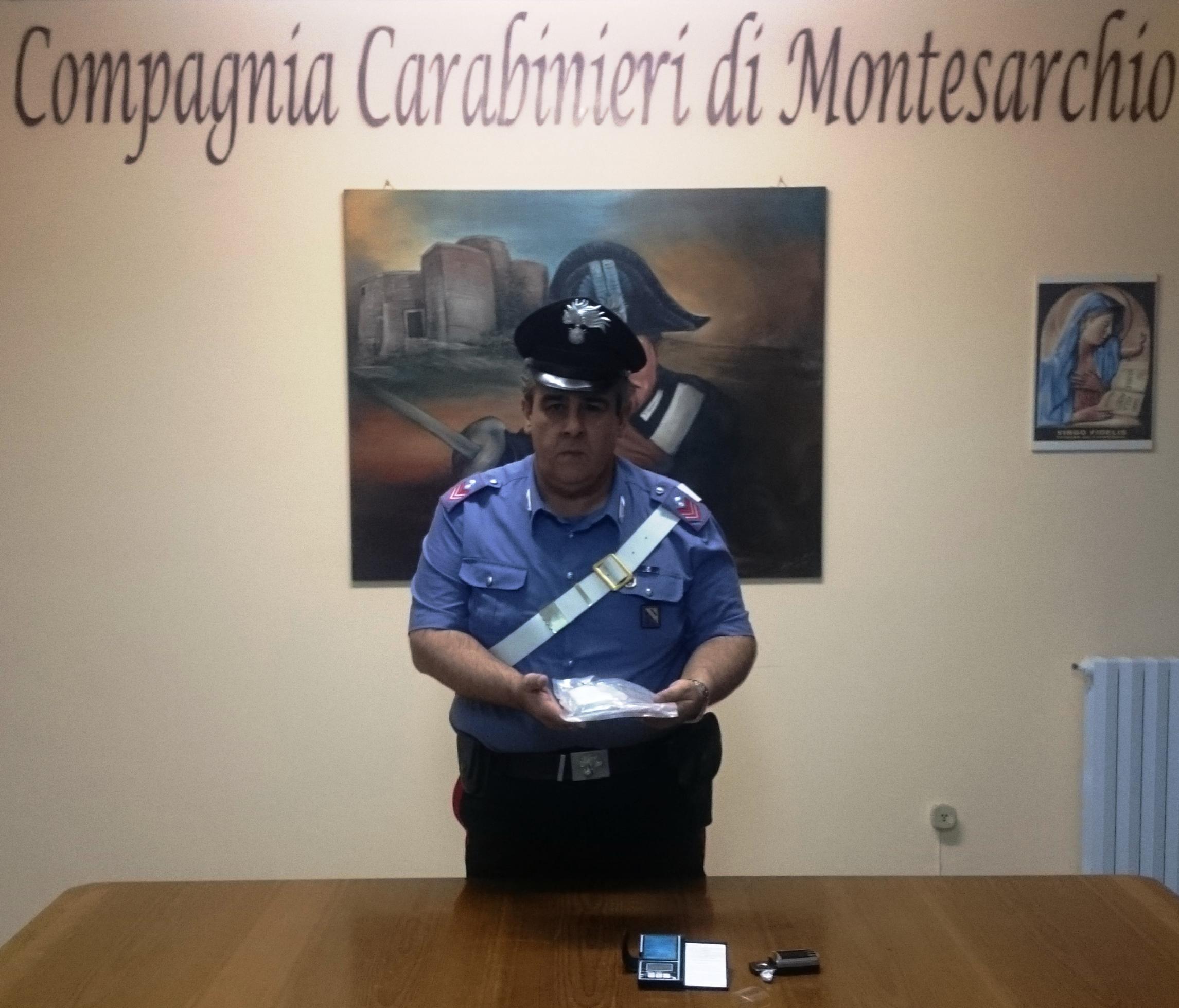 Montesarchio, arrestata coppia in possesso di ingente quantità di sostanze stupefacenti