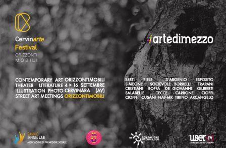 Cervinarte Festival e #artedimezzo insieme per promuovere le realtà artistiche locali