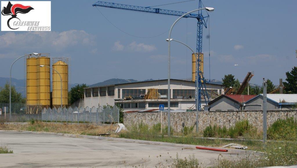 Benevento, confiscato opificio industriale edile di proprietà di un pregiudicato
